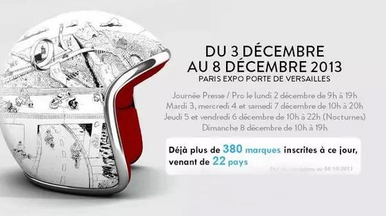 DU 3 AU 8 DÉCEMBRE, VENEZ NOUS RENCONTRER SUR LE SALON DE LA MOTO DE PARIS