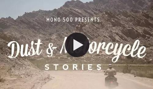 Dust & Motorcycle