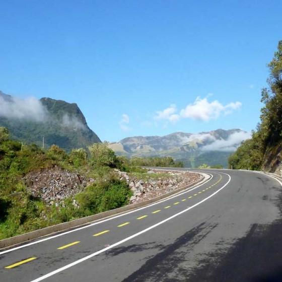 En route vers les Andes