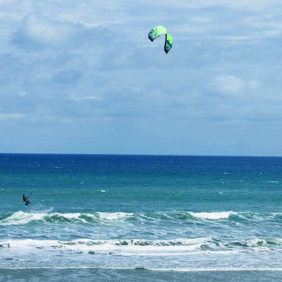 Kite-surf equipment rentals and lessons