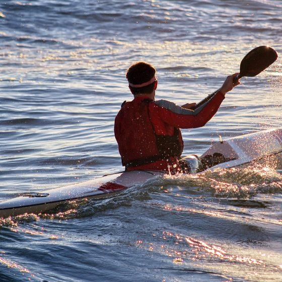 Trek en Kayak de mer