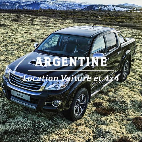 ARGENTINE – LOCATION VOITURE ET 4×4