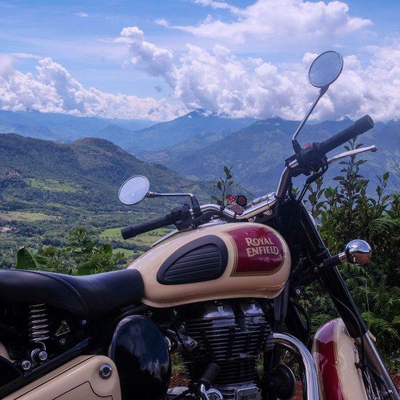 Adventurous Motorcycle Ride