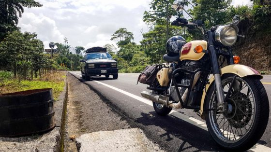 road-trip moto Argentine mono500