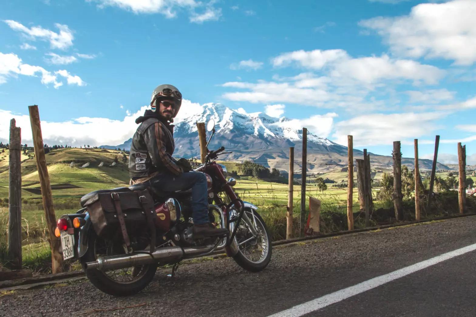 Découvrez la plus belle portion de la Panaméricaine à moto