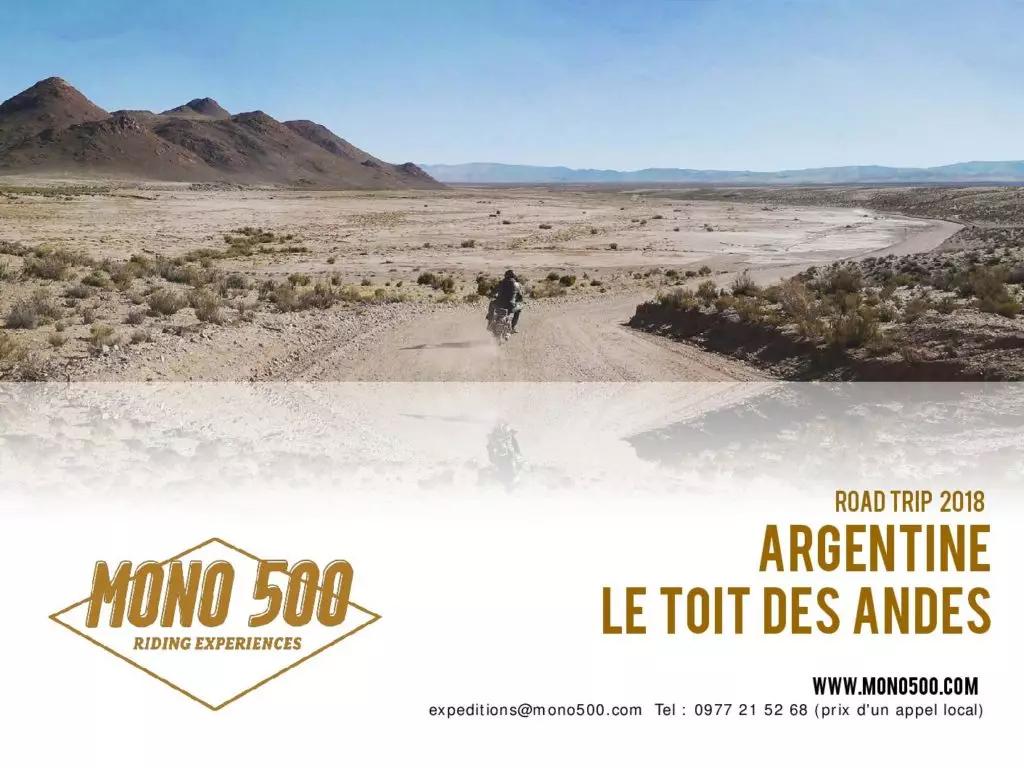 Road Trip Toit des Andes 2018 Argentine