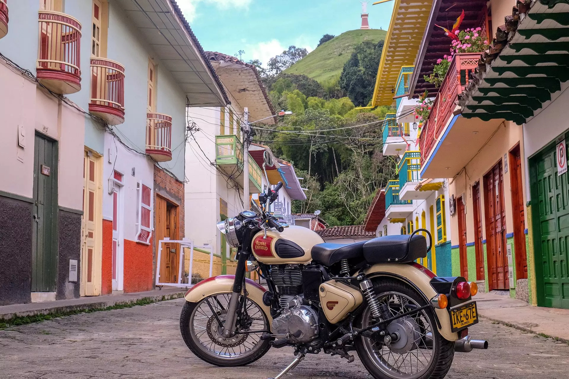 Colombia Adventurous motorcycle ride