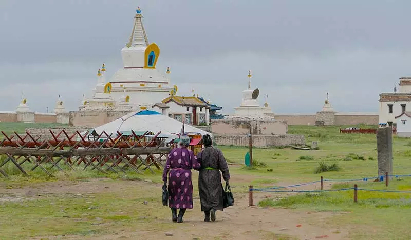 Temple Karakorum - Voyage Mongolie Mono500