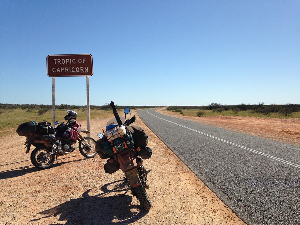 Voyage moto roadtrip australie