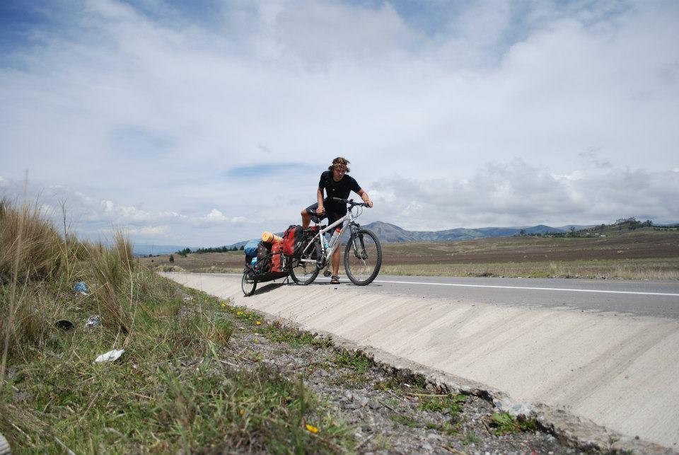panaméricaine à vélo