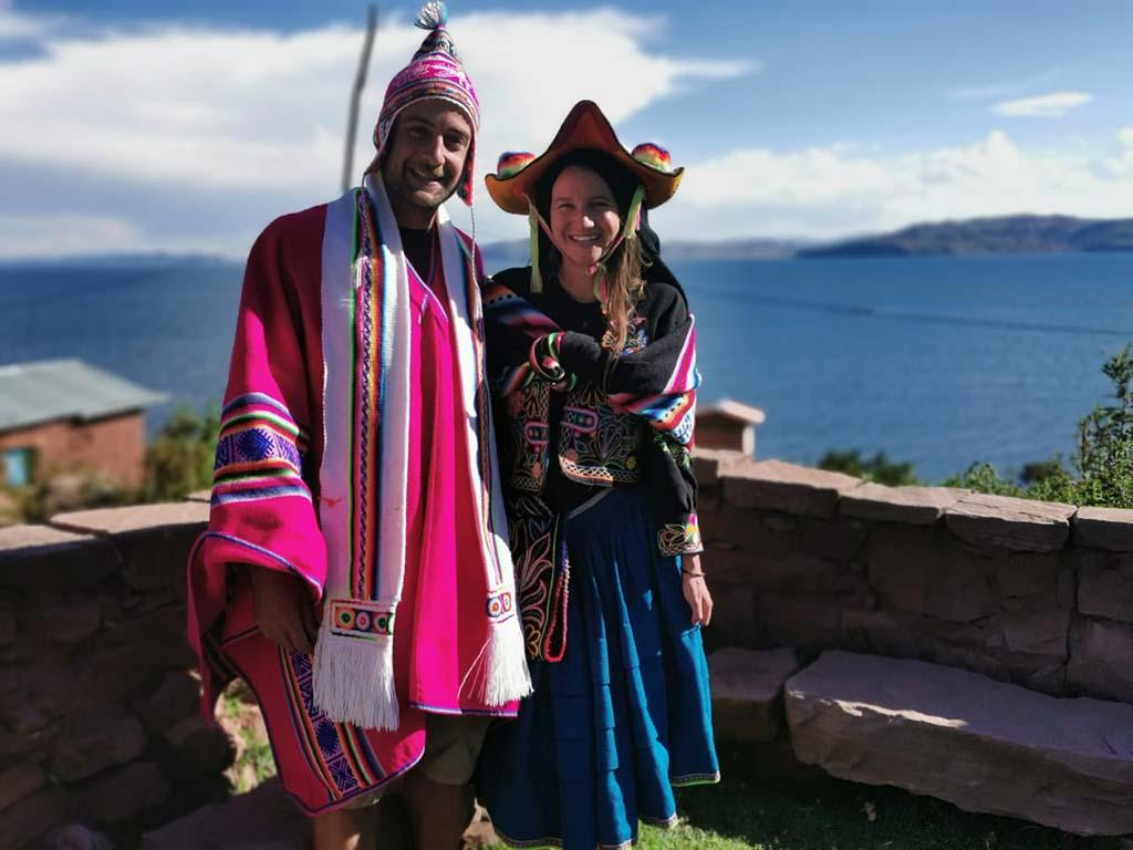 Marjo et Alex sur la panaméricaine