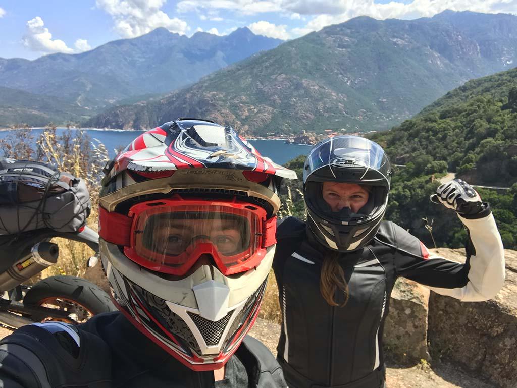 Marjo et Alex en Corse
