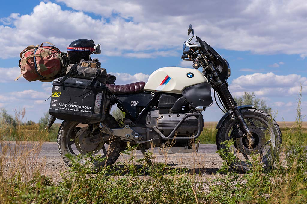 road trip moto BMW