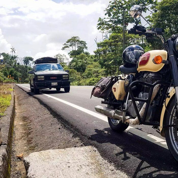 Voyage moto Equateur