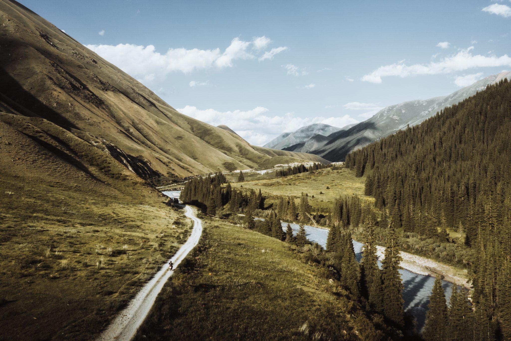 kirghizistan road trip