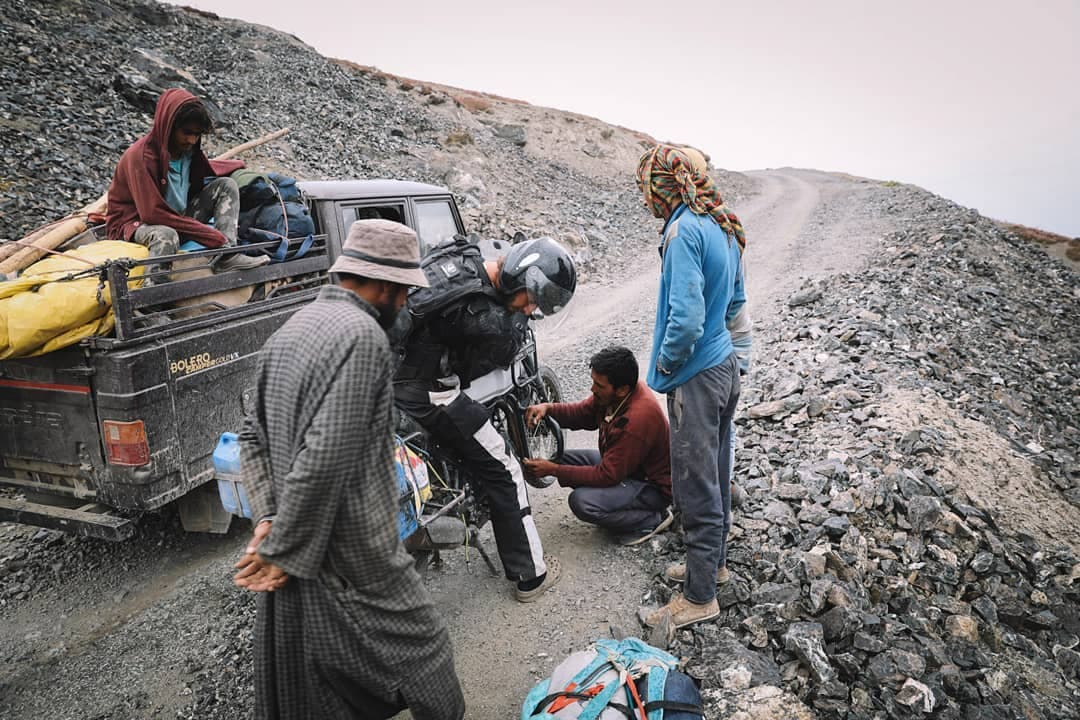 l'entraide au ladakh