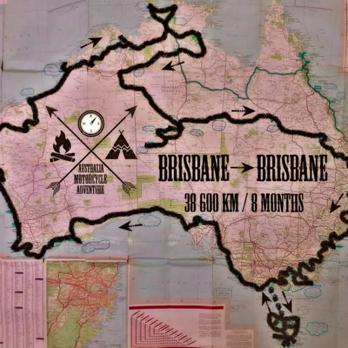 L'Australie à moto