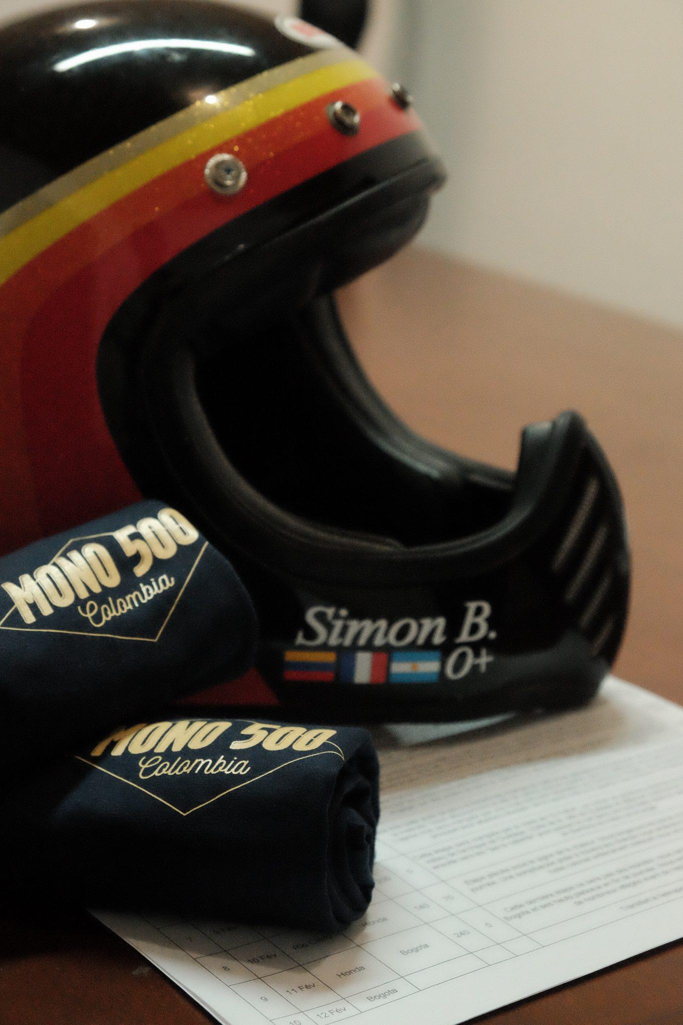 Simon guide moto Mono 500