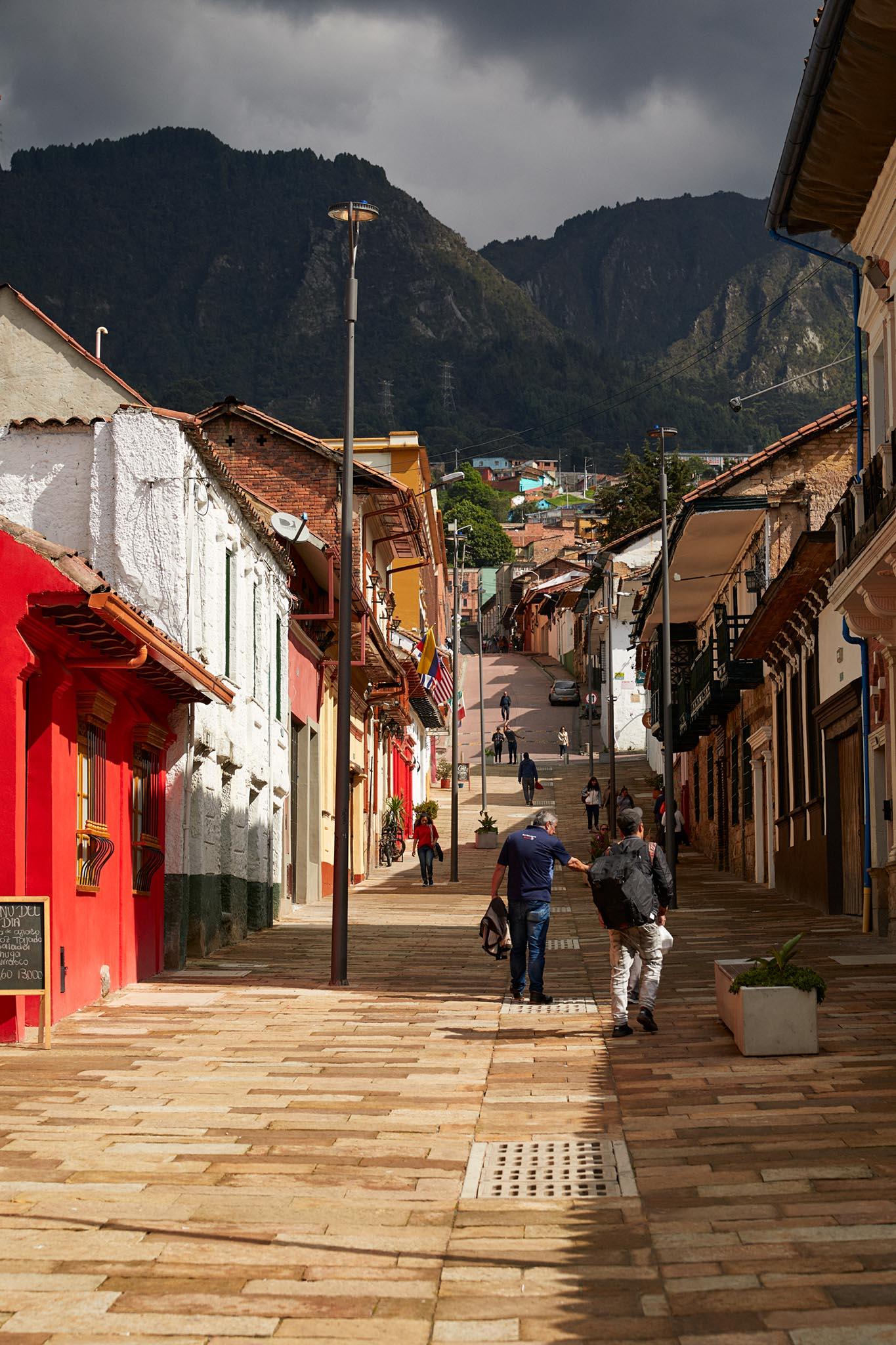 Candelaria, centre historique de Bogota