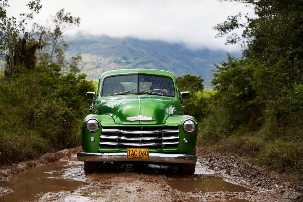 Chevrolet dans un bourbier