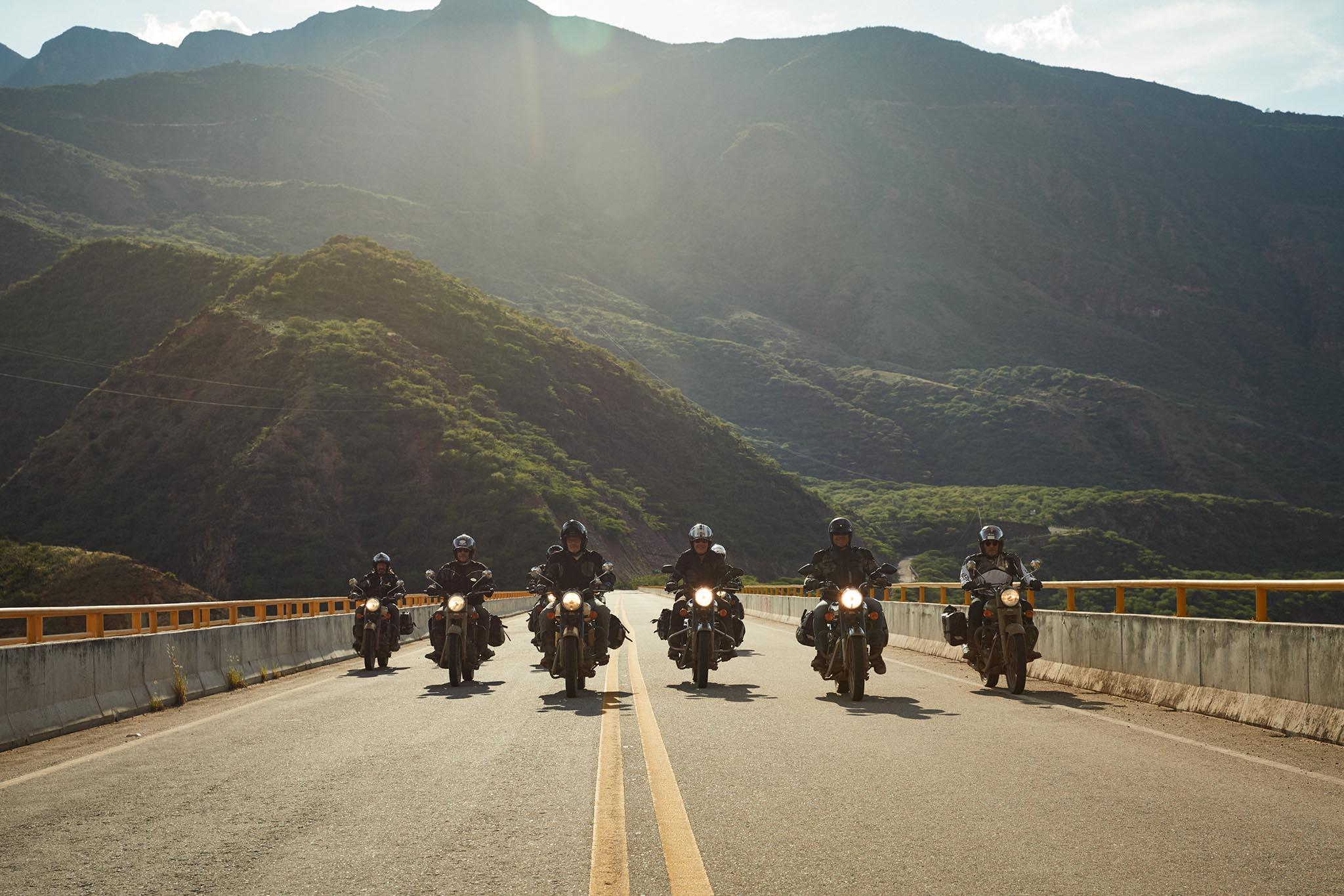 Pont de traverse du canyon Chicamocha