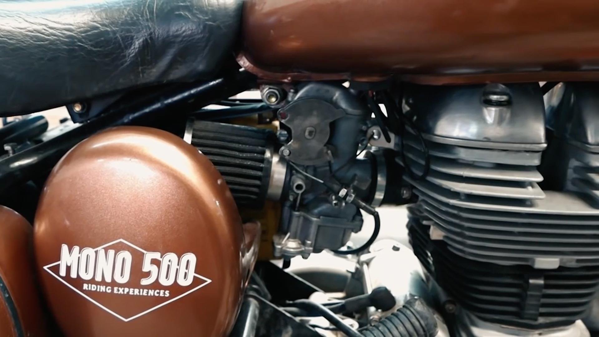 Fiabiliser une royal enfield classic 500 - repasser en carbu et filtre à air cornet