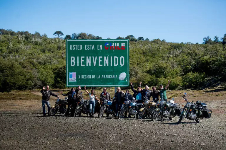 Road trip moto en Patagonie