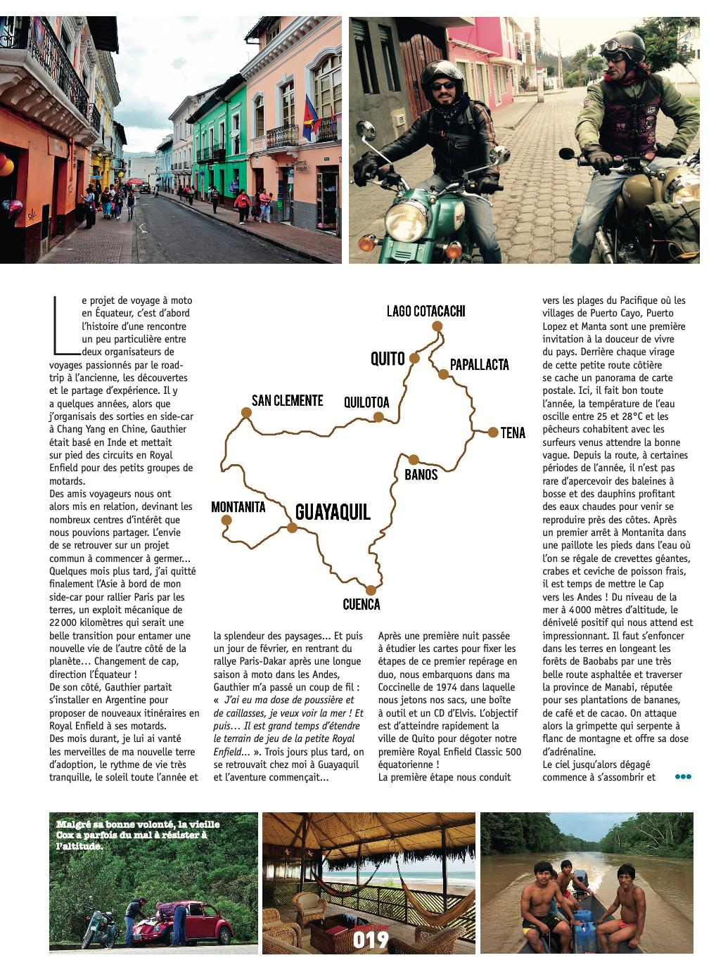 Road Trip Mag #32 Repérage Equateur