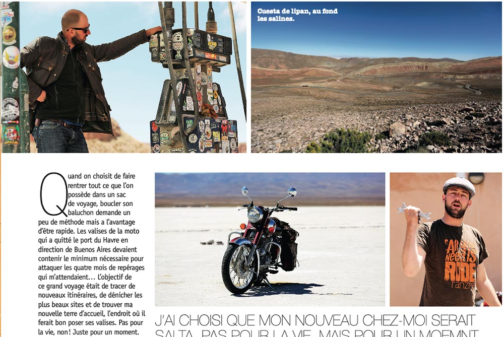 Road Trip Mag #30 Portrait Gauthier Deschamps Argentine