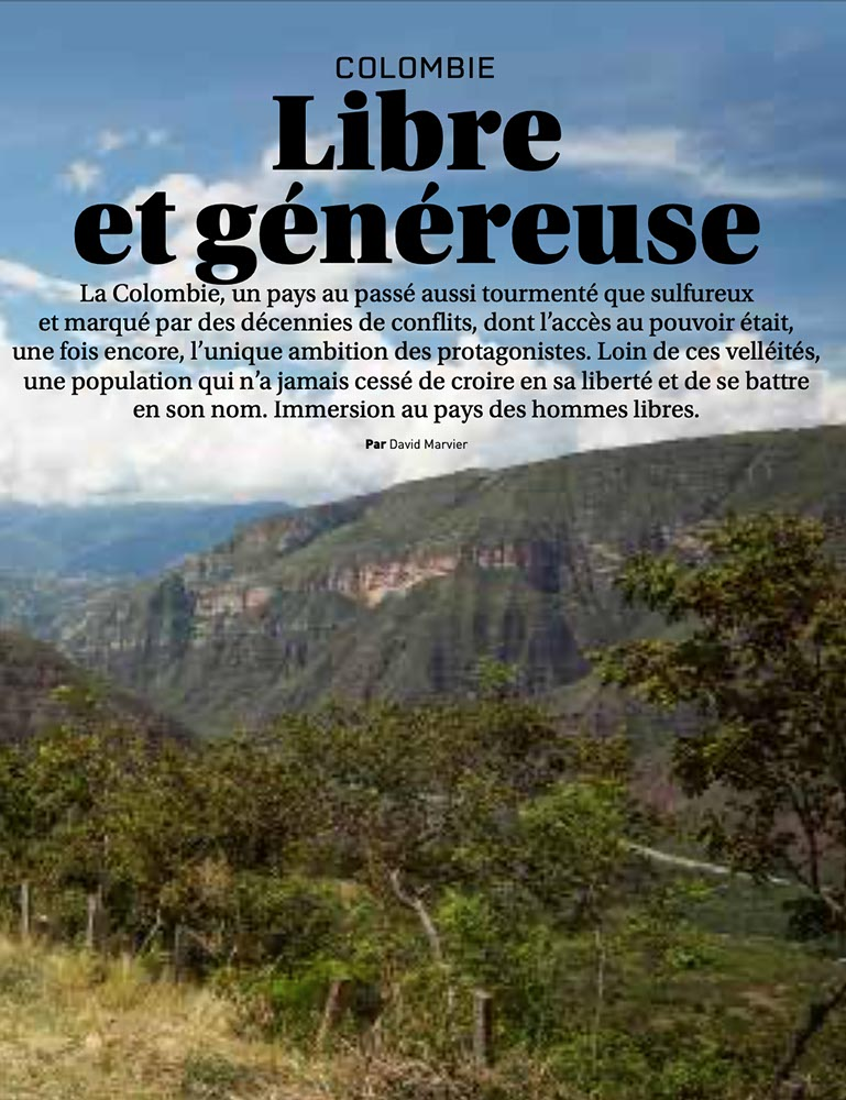Road Trip Mag #59 Colombie