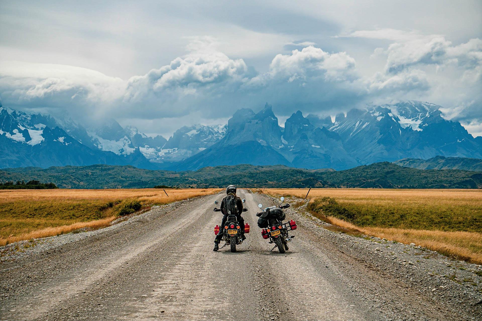 le voyage à moto de Nico et Aglae