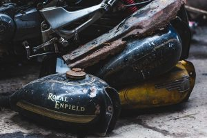 Restauration side-car Royal Enfield