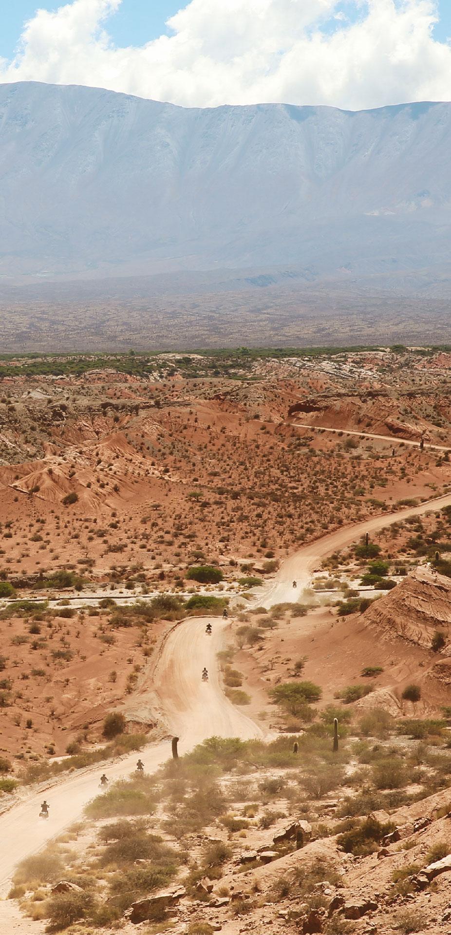 Road trip moto en Amerique du Sud
