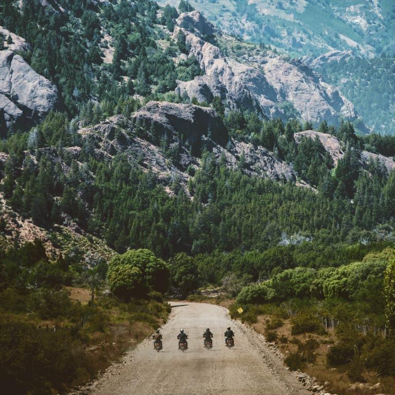 Road trip moto sur les pistes de Patagonie