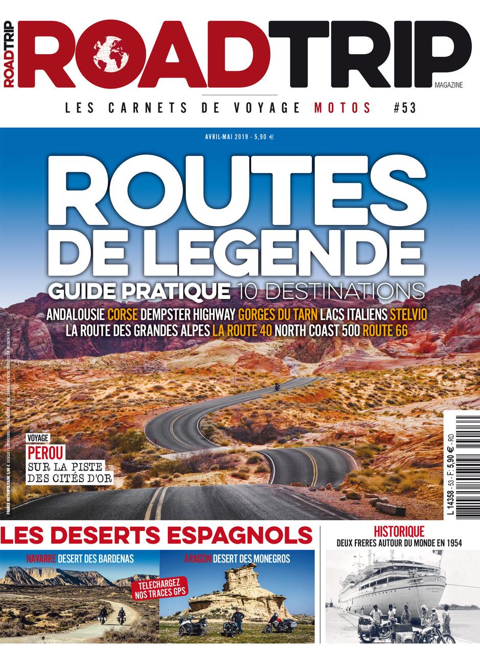 Couv Road trip mag #53 Patagonie
