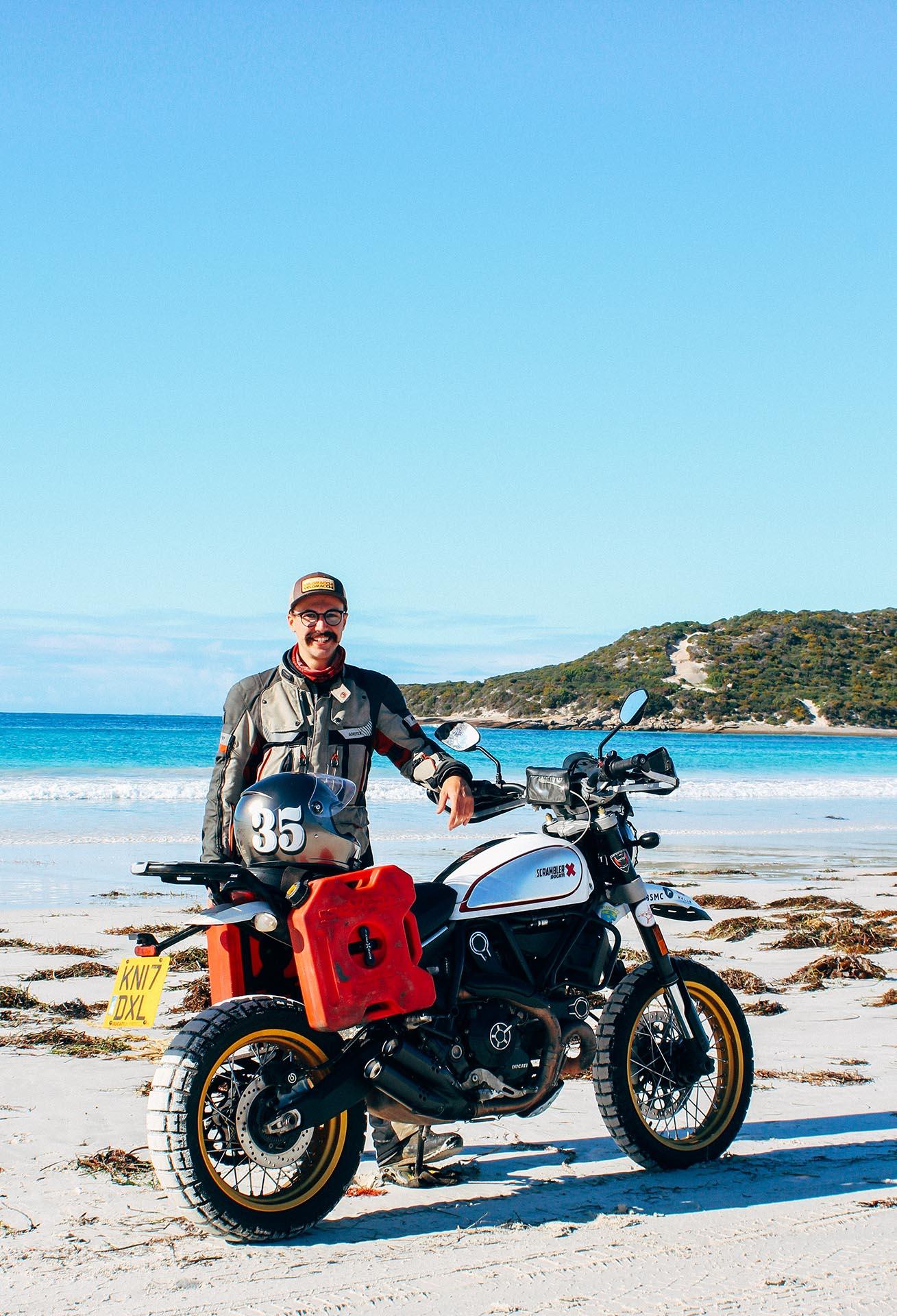 Henry Crew en Australie