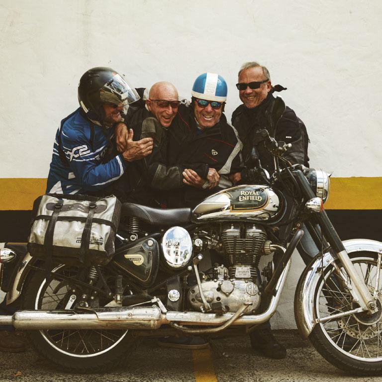 Voyageurs moto Mono 500