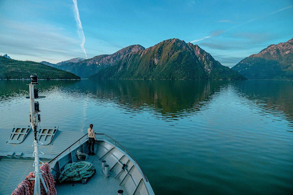 Lac chili fjord