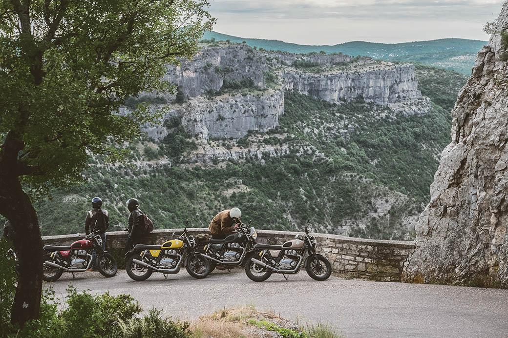 Cirque Navacelles, itinéraire à moto