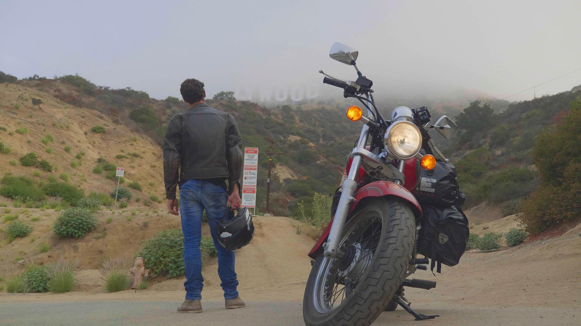 Road trip moto Russie Thibault Bourdon