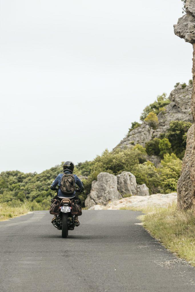 Languedoc à moto
