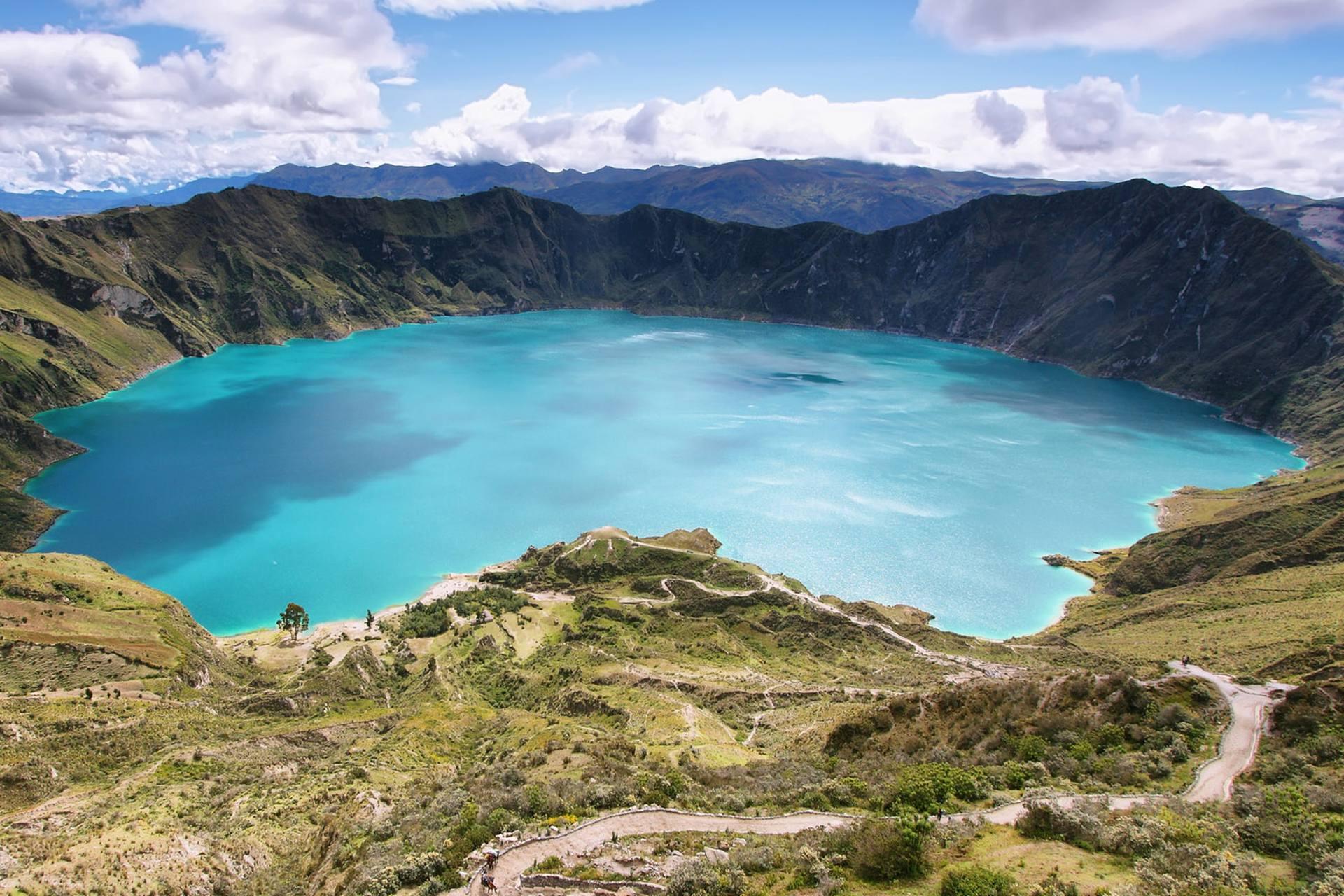 Volcans en équateur - voyage moto