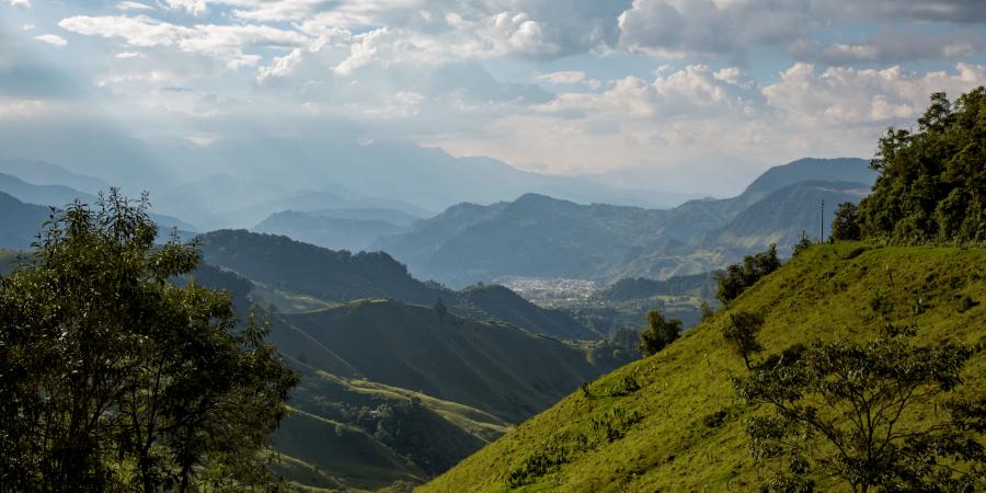 Road trip moto colombie