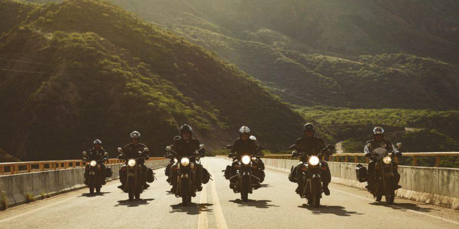 Voyageurs moto Mono 500 en Colombie